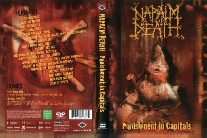 Le second DVD de Napalm Death